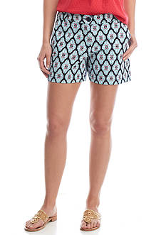 Crown & Ivy™ Petite Woven Print Shorts