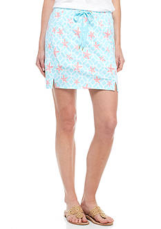 Crown & Ivy™ Petite Knit Drawstring Skort