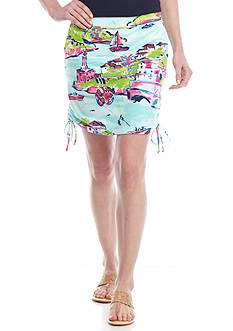 Crown & Ivy™ Petite Side Tie Skort