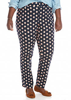 Crown & Ivy™ Plus Size Printed Pants