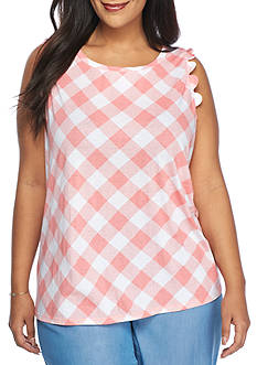Crown & Ivy™ Plus Size Sleeveless Top