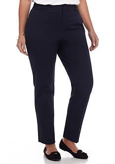 crown & ivy™ Plus Size Bi-Stretch Short Pants
