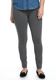 Crown & Ivy™ Plus Size Ponte Leggings