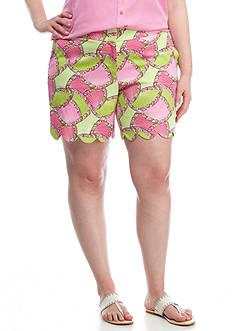 Crown & Ivy™ Plus Size Print Shorts