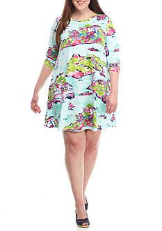 Crown & Ivy™ Plus Size Knit Dress