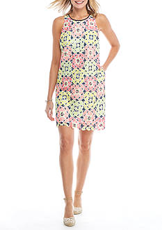 Crown & Ivy™ Print Swing Dress