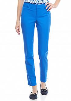 crown & ivy™ Fly Front Bi Stretch Pants