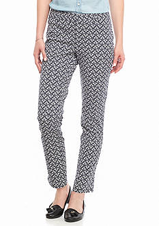 Crown & Ivy™ Printed Bi-Stretch Pants