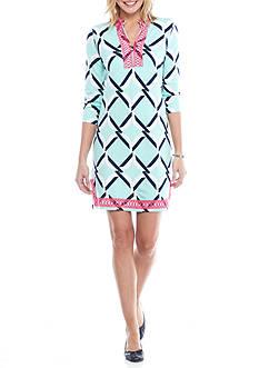 Crown & Ivy™ Crochet Bib Dress