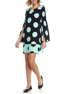 Crown & Ivy™ Smock Sleeve Dress