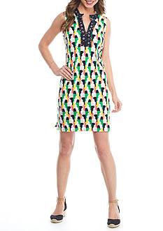 Crown & Ivy™ Ellie Pop Sleeveless Dress