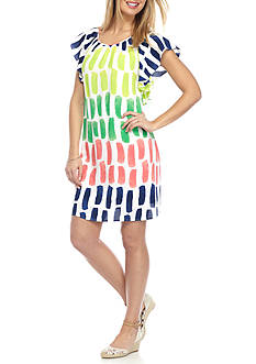 Crown & Ivy™ Colorful Print Dress