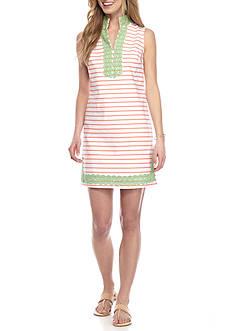 Crown & Ivy™ Crochet Stripe Dress
