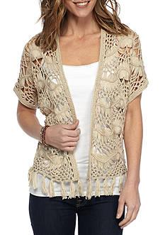 New Directions Crochet Shrug Sweater