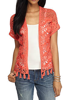 New Directions Crochet Fan Shrug