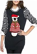 New Directions® Christmas Penguin Tunic