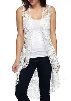 New Directions Crochet Cocoon Vest
