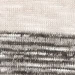 Tan/khaki Womens Tops: Blush/Charcoal New Directions Waffle Scarf Stripe 2Fer Sweater Top