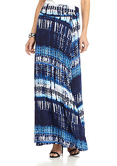 New Directions Tribal Maxi Skirt