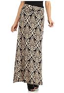 New Directions® Scallop Medallion Print Maxi