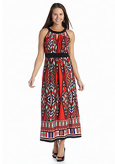 New Directions® Halter Maxi Dress