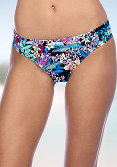 Kenneth Cole Tropical Tendencies Hipster Swim Bottoms