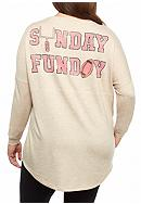 Red Camel® Plus Size Raglan Sweeper Sunday