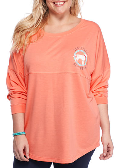 Red Camel® Plus Size Seriously Southern Sweatshirt