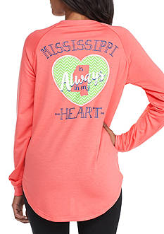 Red Camel® Always In My Heart Mississippi Raglan