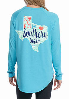 Red Camel Raglan State Southern Charm Texas