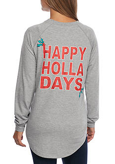 Red Camel Happy Holla Days Top