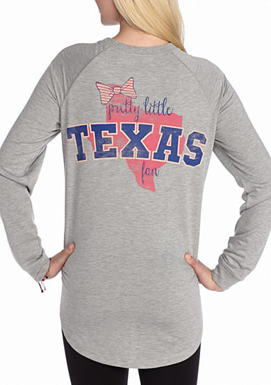 Red Camel® Raglan Bow State Fan Texas