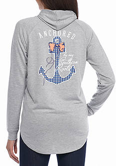 Red Camel Anchored Southern Roots Hoodie
