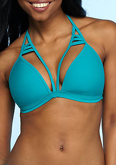 Urban Sea™ Solid Strappy Starburst Halter Bra Top