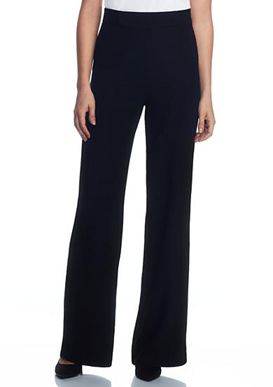 Joan Vass New York Wide Leg Trousers