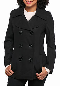 Rampage Caillee Basic Pea Coat