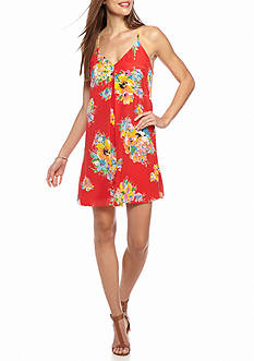 Polo Ralph Lauren Floral Silk Racerback Dress