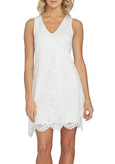 1. State Sleeveless Lace Dress