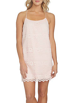 1. State Racerback Lace Shift Dress