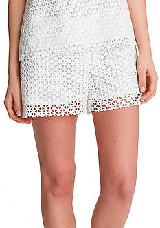 1.State Lace Overlay Shorts