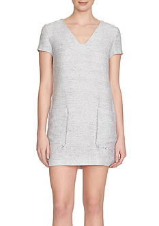1. State Short Sleeve Pocket Shift Dress