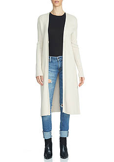 1. State Maxi Combed Cotton Cardigan