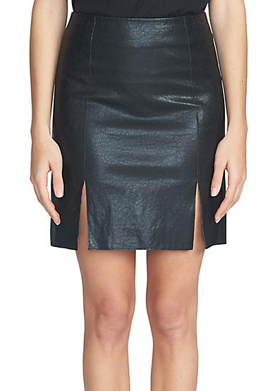 1. State A Line Mini Skirt