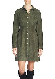 1. State Collard Button Front Dress