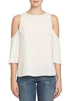 1. State Flounce Sleeve Blouse