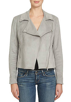 1. State Faux Suede Moto Jacket