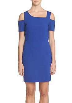 1. State Cold Shoulder Sheath Dress