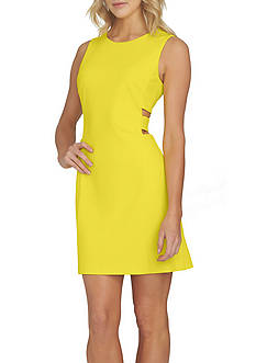 1. State Aline Dress with Cut Outs