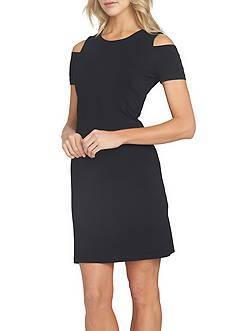 1. State Knit Cold Shoulder Dress