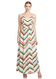 1.State Strap Back Maxi Dress